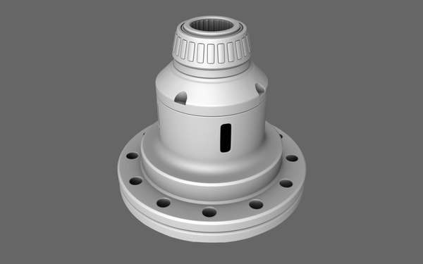 limited slip differential 3d model