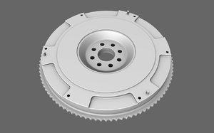3d model flywheel sport