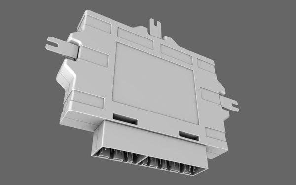 engine control unit 3d model