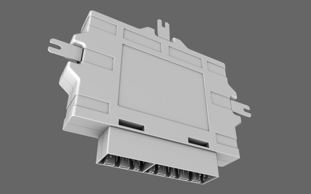engine control unit 3d model