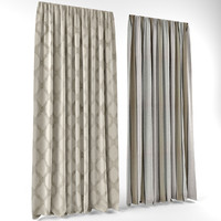 curtains modern style fbx