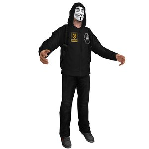 3d anonymous guerrilla