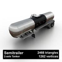 Semitrailer Tanker
