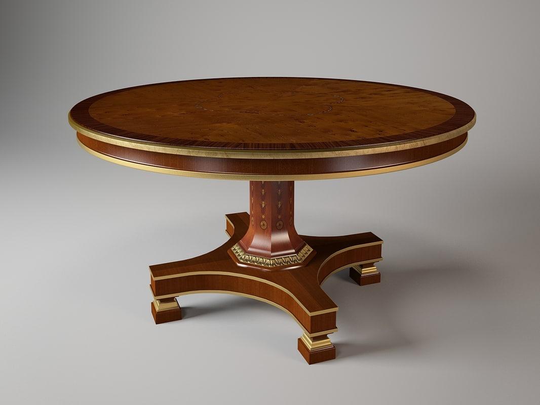 mg1185 oak design 3d model