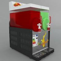 3d 3ds cold drink dispenser