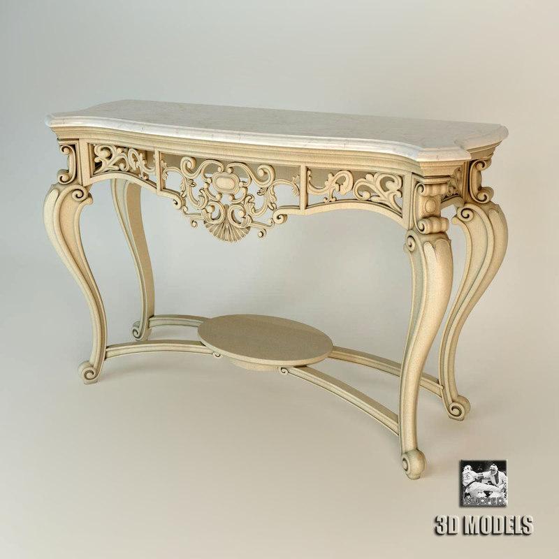 3d model volpi - table