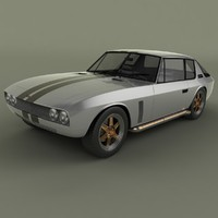 3ds max 1973 jensen interceptor fast