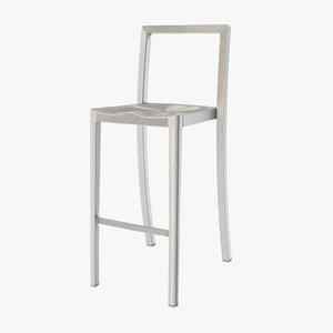 3d icon chair starck bars