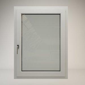 pvc window 3ds