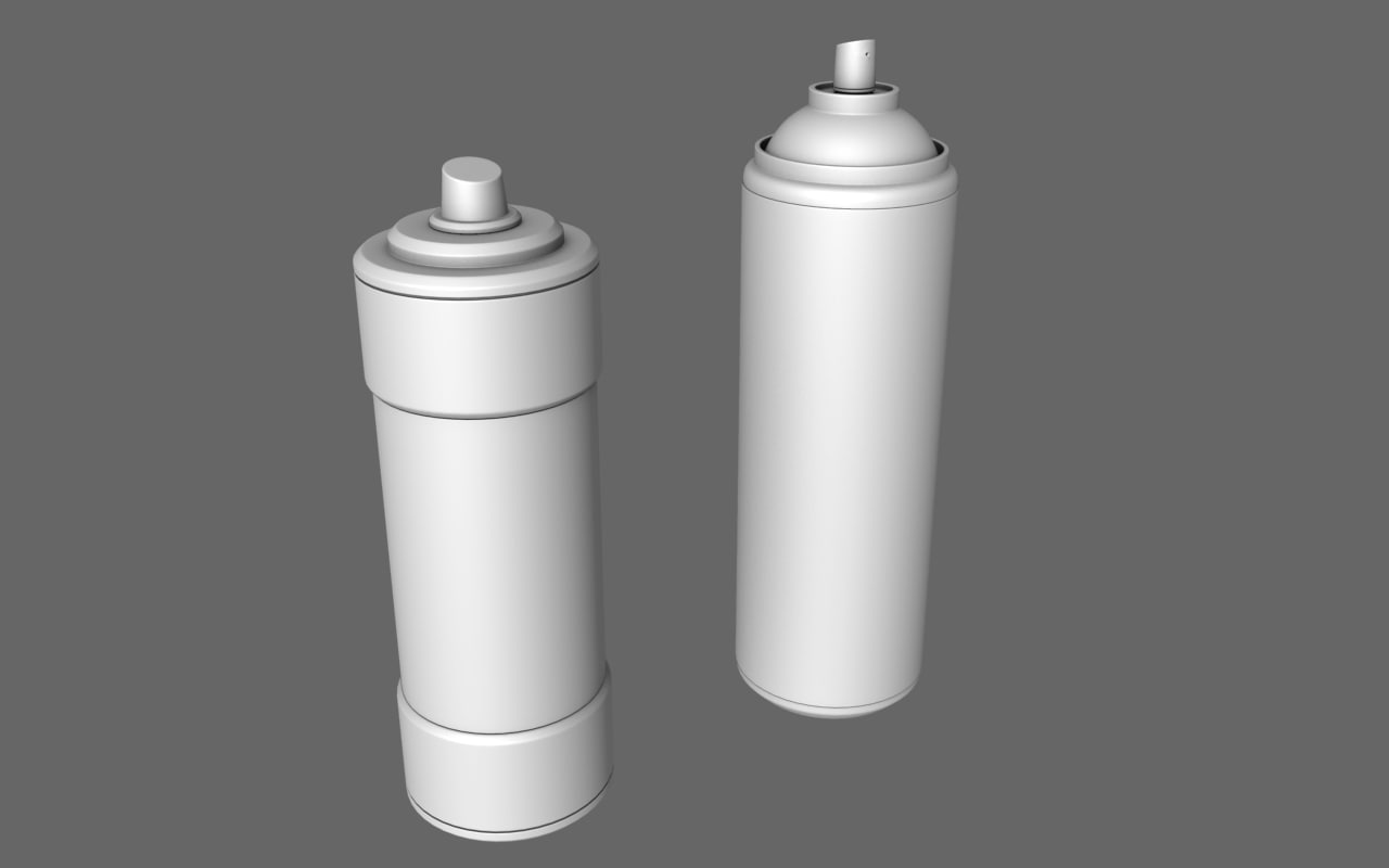 3d model health spray