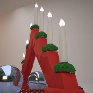 free obj mode christmas light