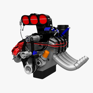 ma engine fuel dragster