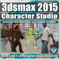 3ds max 2015 Character Studio Subscription