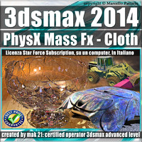 3ds max 2014 PhysX Mass Fx Cloth Subscription