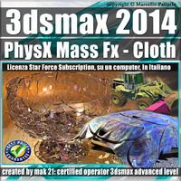 3ds max 2014 PhysX Mass Fx Cloth Subscription