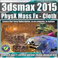 3ds max 2015 PhysX Mass Fx Cloth Subscription