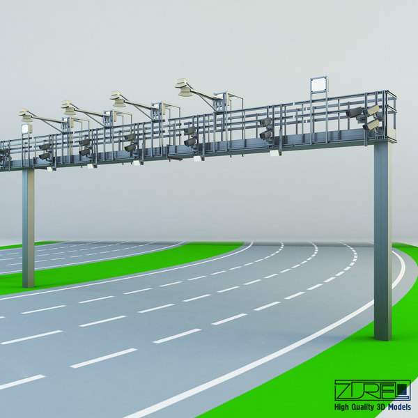 3d multi lane flow