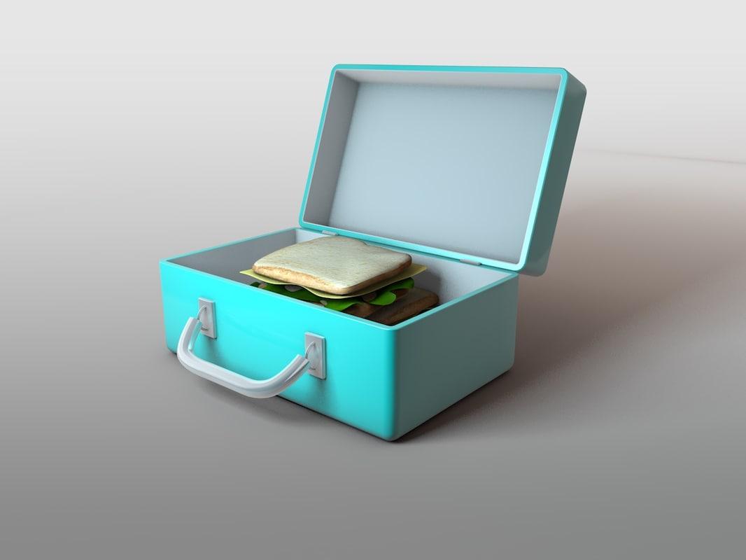 lunchbox 3d 3ds