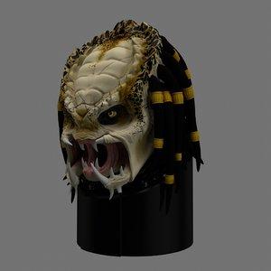 predator head c4d