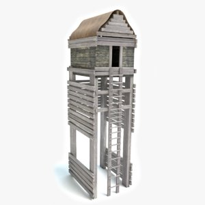 fort watch tower 3ds
