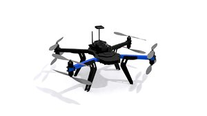3d drone x8