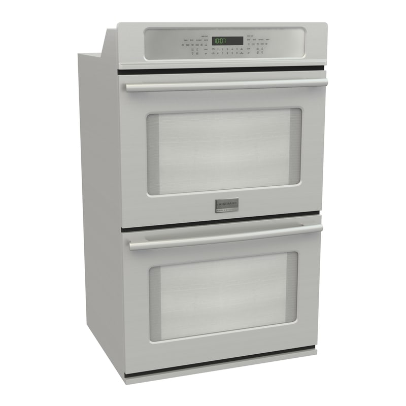3d frigidaire double wall oven model