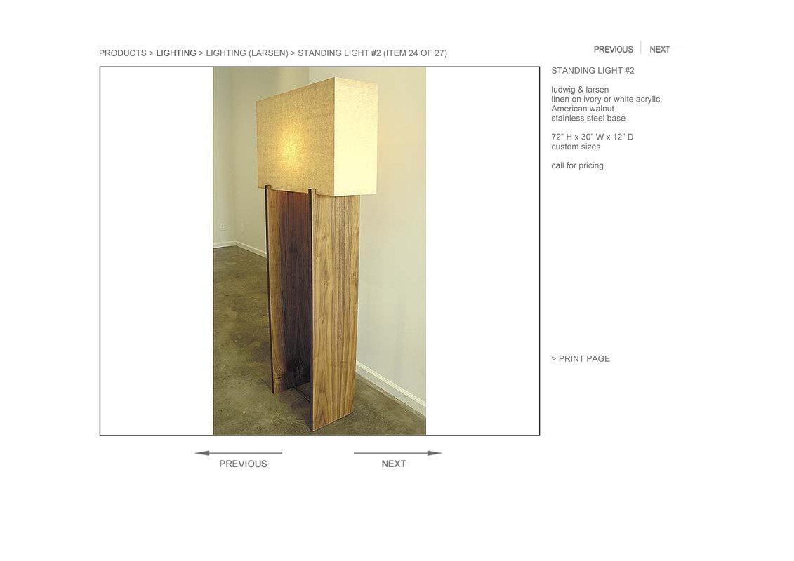hudson standing light 2 3d model