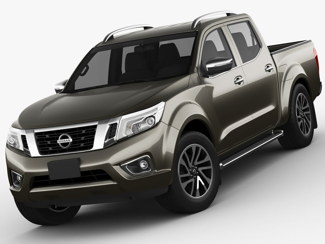 nissan navara frontier 3d model. Black Bedroom Furniture Sets. Home Design Ideas