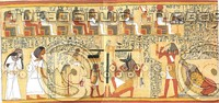 Ancient Egyptian Book of the Dead Ani - Plate 3