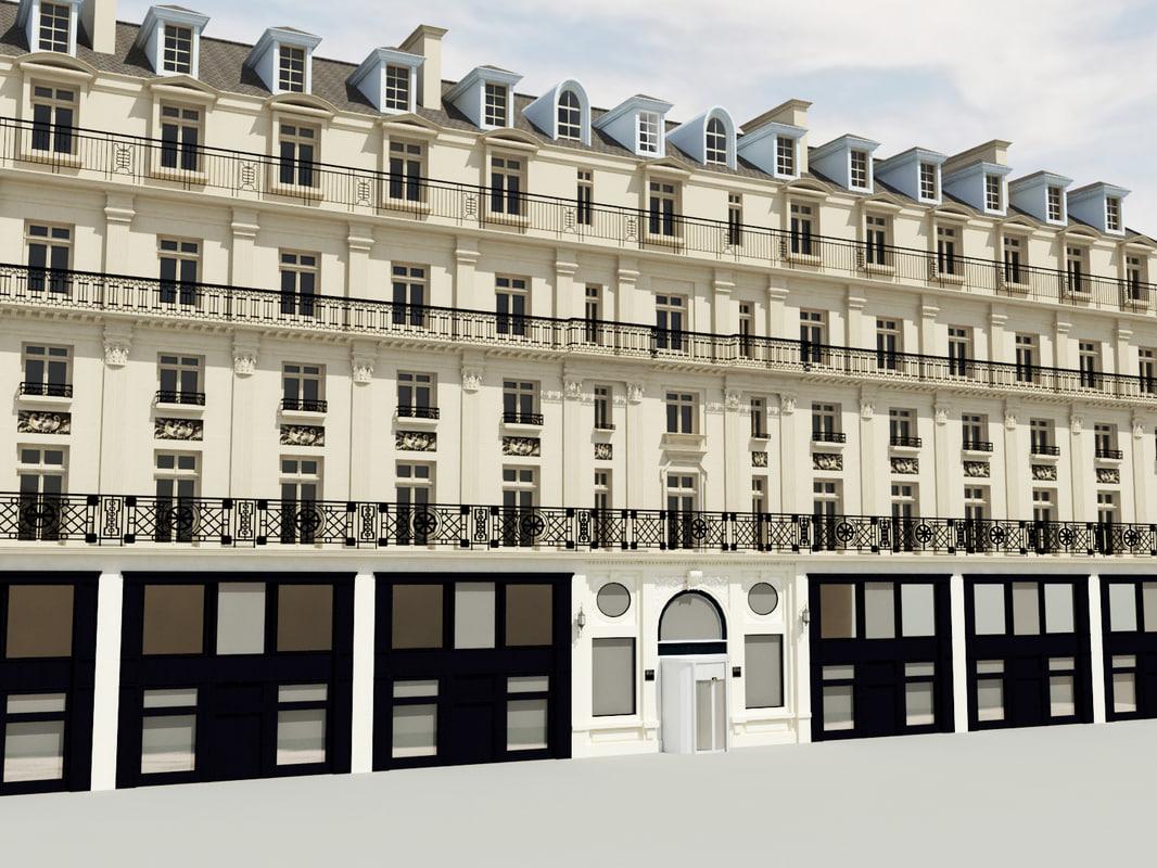 3d model of hotel