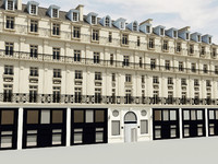 3d model of hotel