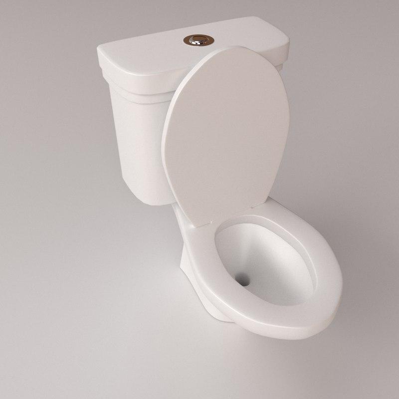 3d toilet