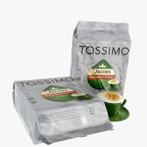 3d tassimo t package model