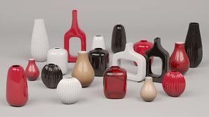 3d max calligaris vases