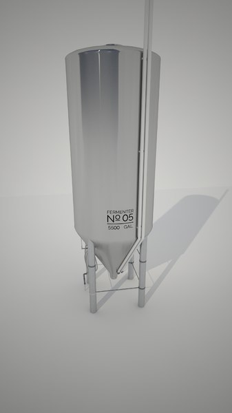 conical fermenter 3d ma