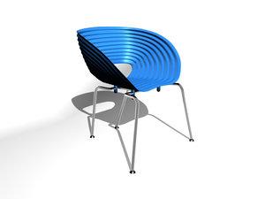 tom vac chair 3d max