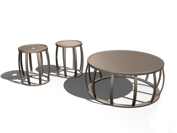 tables citterio 3d x