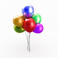 balloons 3d 3ds