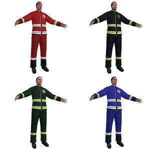 3d paramedic medic model