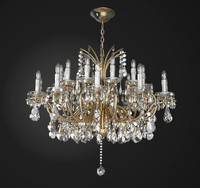 3d chandelier lamp light