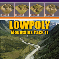 mountains pack 3d 3ds