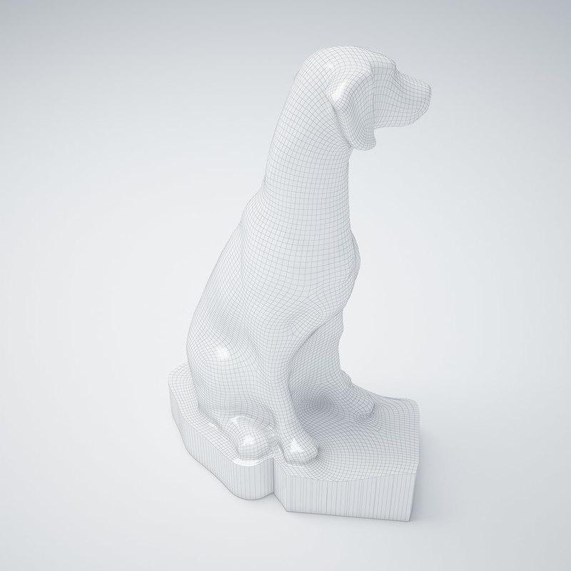 max statue dog