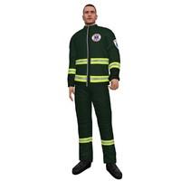 rigged paramedic 3d model