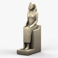 egyptian female sculpture