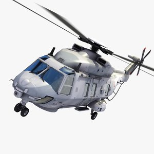 nh90 caiman helicopter french 3ds