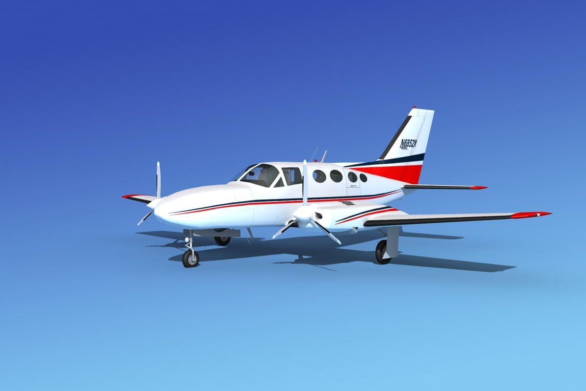 dwg scale cessna 421 golden eagle