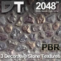 3 Decorative Stone Textures