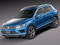 Volkswagen Touareg 2015 SUV