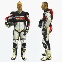 body biker references obj