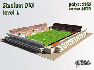 3d stadium level 1